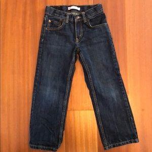 Levi's boys 505 Regular Size 6 Jeans EUC